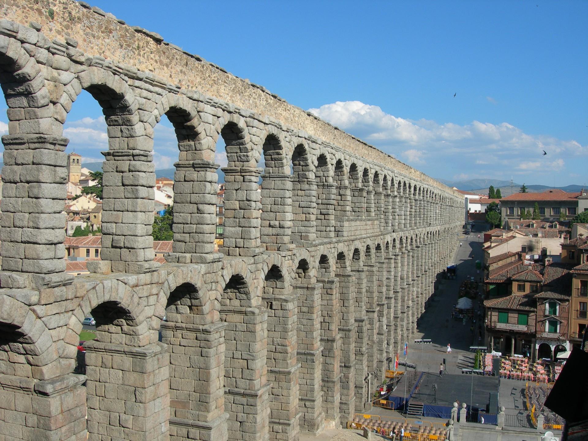 roman aqueducts thinglink
